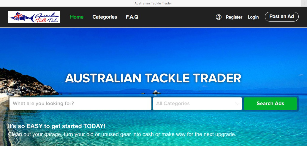 Australian Tackle Trader Home 2